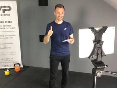 coaching sportif à distance par visio avec votre coach